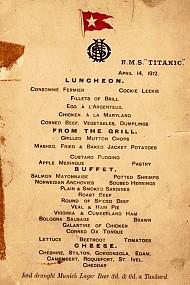 Bí ẩn Thực Đơn Cuối Cùng Trên Tàu Titanic