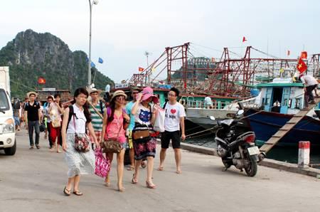 Quý I/2014 Huyện Vân Đồn Đón Hơn 264 Nghìn Lượt Du Khách